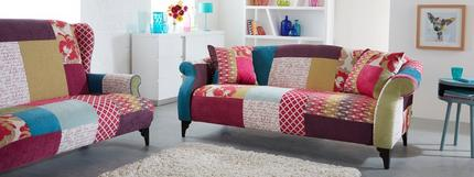 Shout Patchwork Sofa
