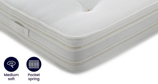 Silk Deluxe Mattress Double (4 ft 6) Mattress