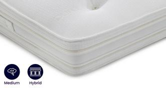 Silk Latex Memory Mattress Double (4 ft 6) Mattress