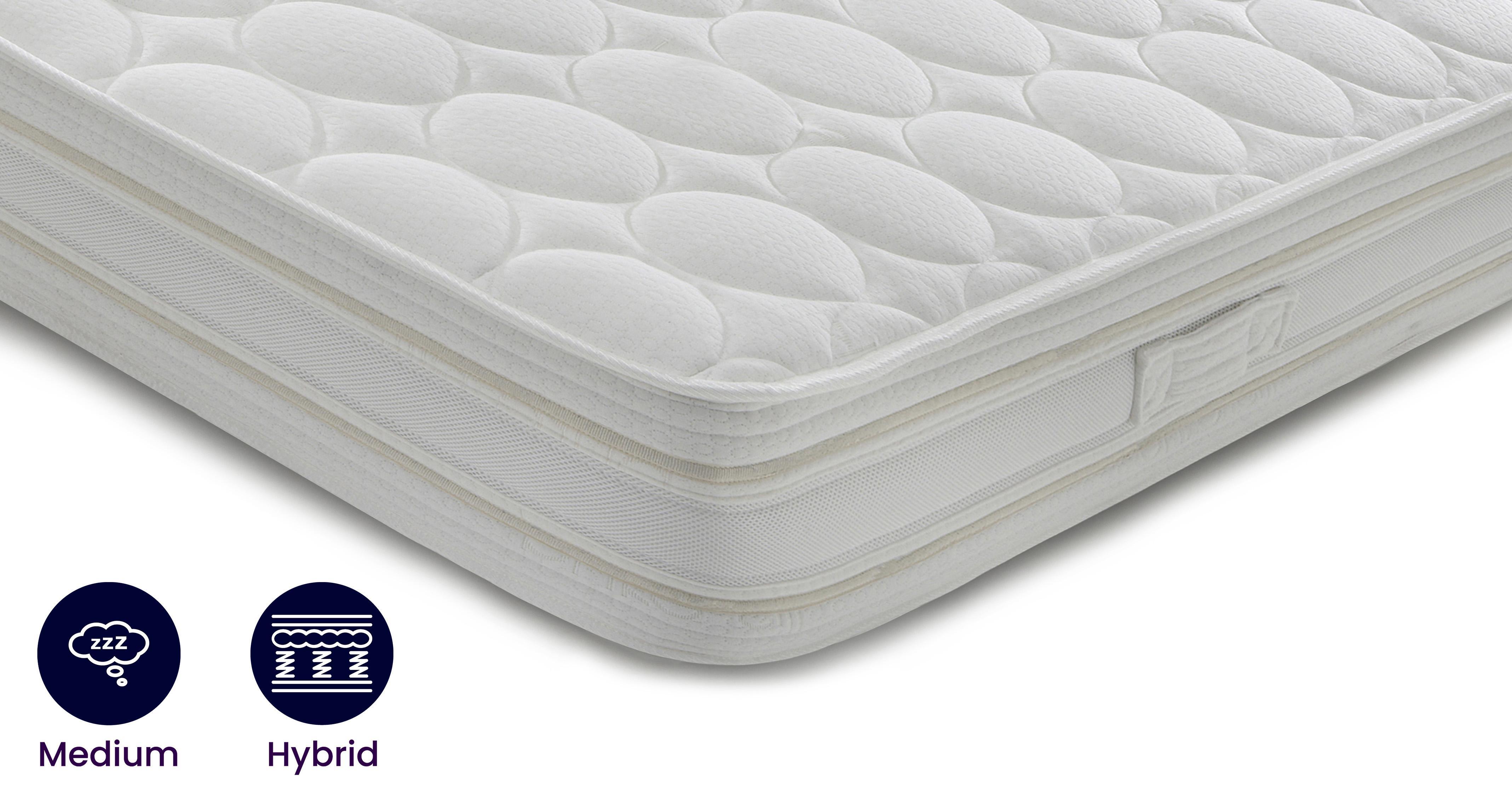 silk memory supreme mattress double 4 ft 6 mattress silk. Black Bedroom Furniture Sets. Home Design Ideas