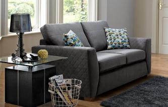 Sinatra 2 Seater Deluxe Sofa Bed Sherbet