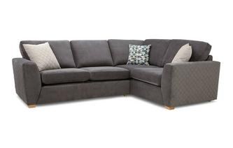 Sinatra Left Hand Facing 2 Seater Corner Sofa Sherbet