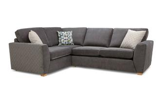 Sinatra Right Hand Facing 2 Seater Corner Sofa Sherbet