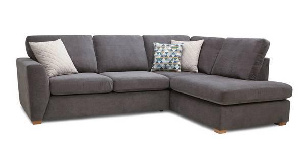 Sinatra Left Hand Facing Arm Open End Corner Sofa
