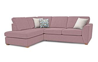 Sinatra Right Hand Facing Arm Open End Corner Sofa Sherbet