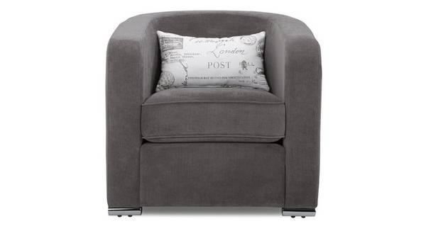 Skill Plain Accent Chair