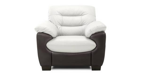 Skyline Leather and Leather Look Armchair