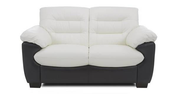 Skyline Leather and Leather Look 2 Seater Sofa