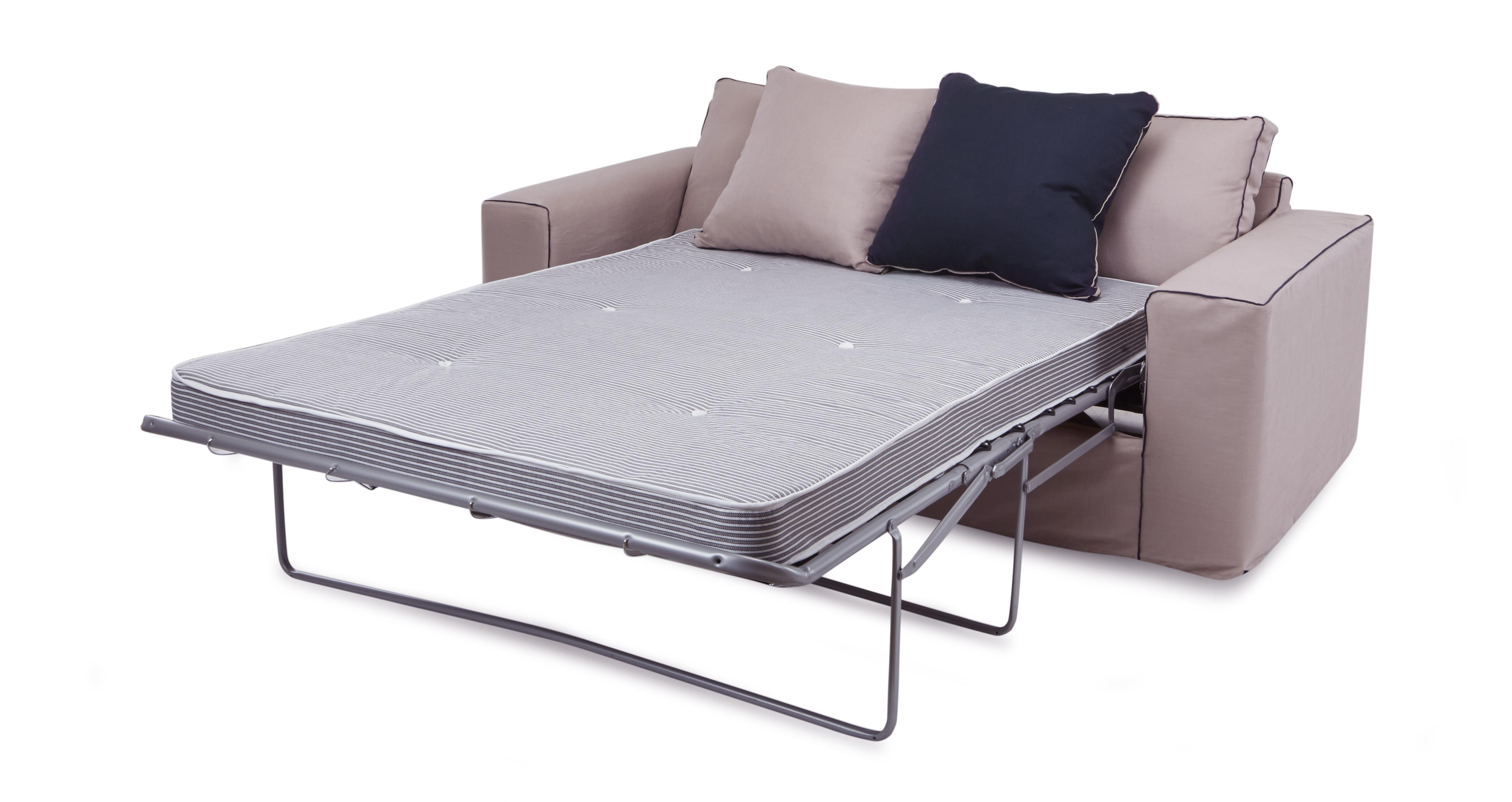 Slate 3 seater deluxe sofa bed dfs ireland for Sofa bed ireland