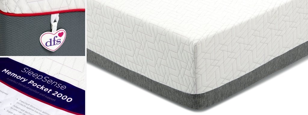 Sleepsense Memory Pocket 2000 Mattress
