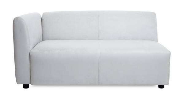 Slouch Left Hand Facing Arm Sofa Unit