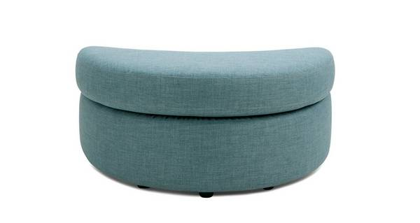 Soda Half Moon Footstool
