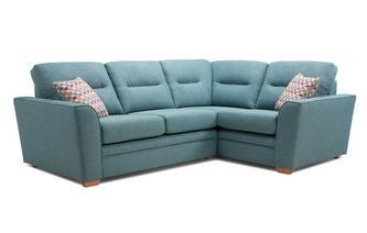 Left Hand Facing 2 Seater Corner Sofa Revive