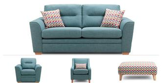 Soda Clearance 3 Seater Sofa, Chair, Accent Chair & Stool