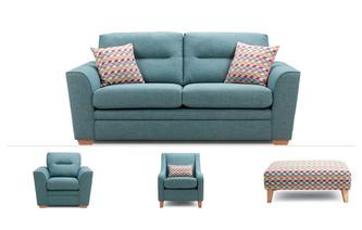 3 Seater Sofa, Chair, Accent Chair & Stool