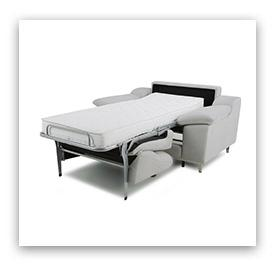 A bed in a chair