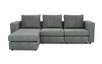 4 Seats, 5 Sides - The Corner Snuggle - Splendour Fabric