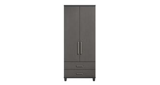 Solemn 2 Door Robe with Drawers