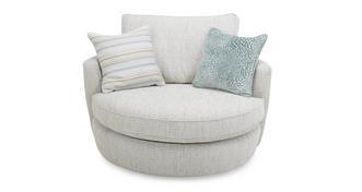 Sophia Cuddler Swivel Chair