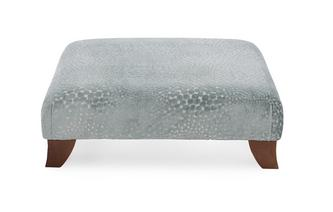 Patterned Footstool Sophia
