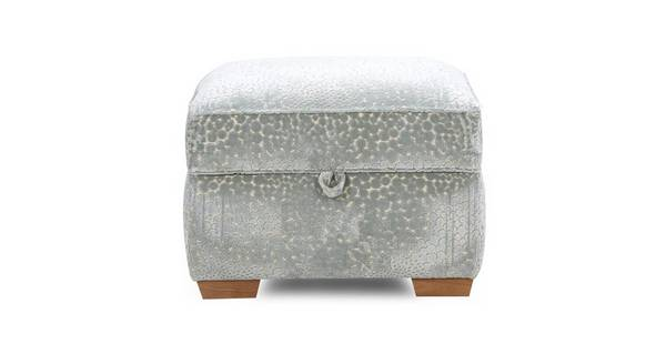 Sophia Pattern Storage Footstool