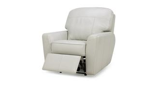 Sophia Leather Manual Recliner Chair