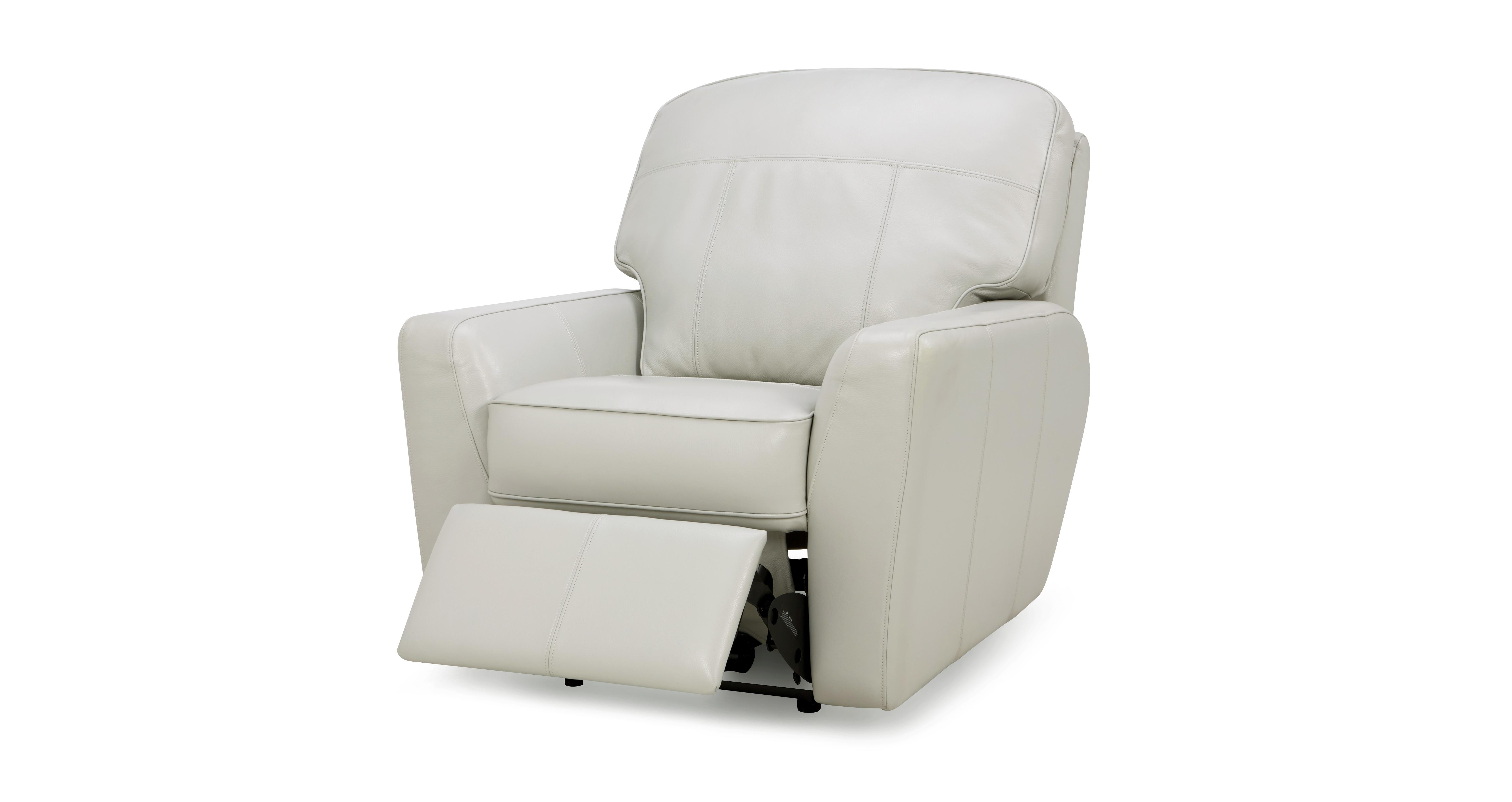 Sophia Leather Electric Recliner Chair | DFS
