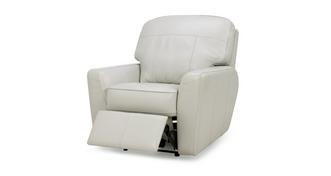 Sophia Leather Elektrische recliner fauteuil