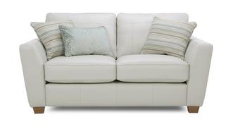 Sophia Leather 2 Seater Sofa