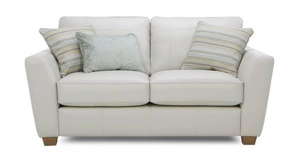 Sophia Leather 2 Seater Sofa