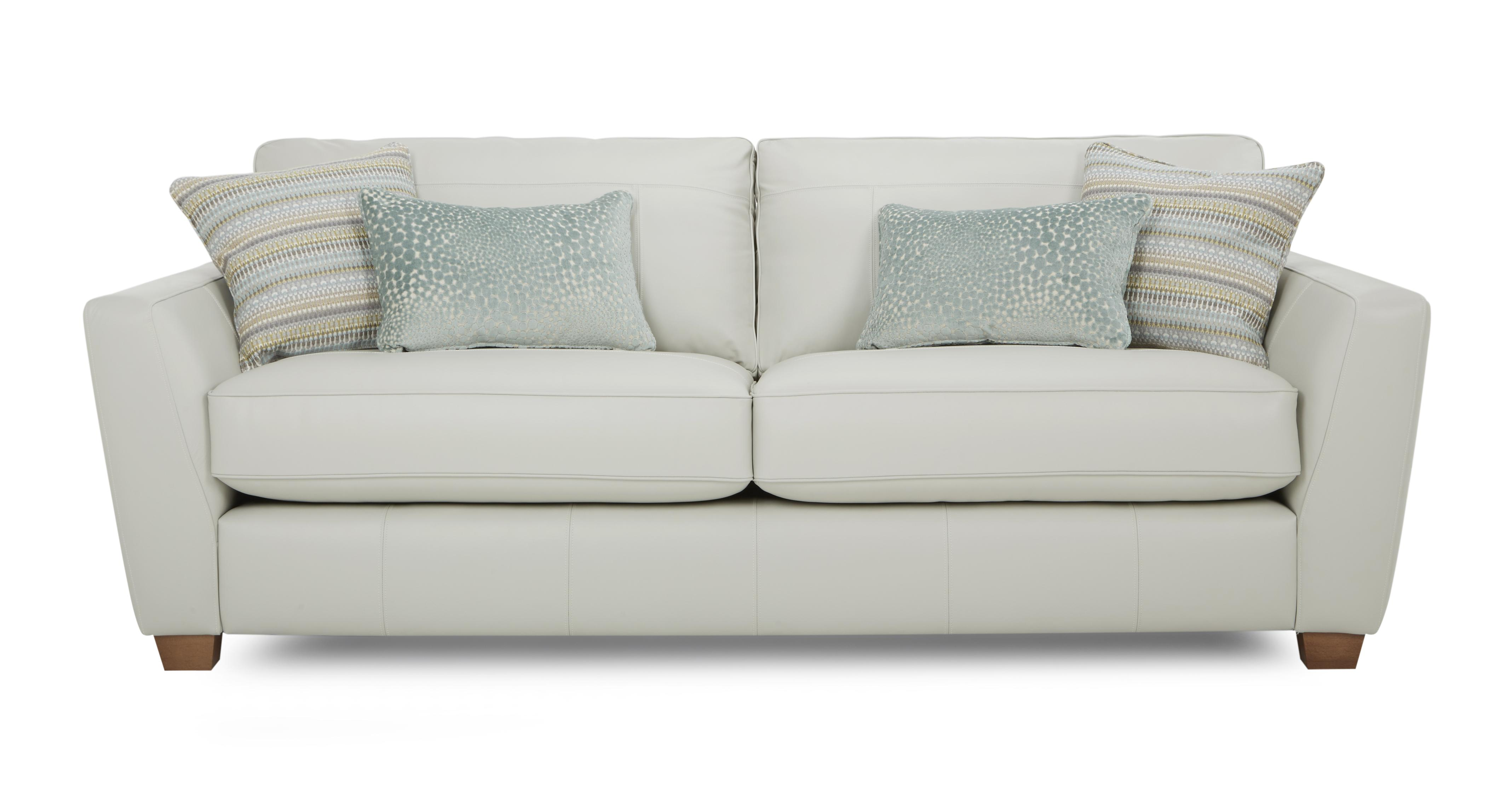 Sophia Leather 3 Seater Sofa Dfs