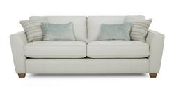 Sophia Leather 3 Seater Sofa