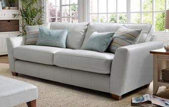 Sophia Leather 3 Seater Sofa Sophia Leather
