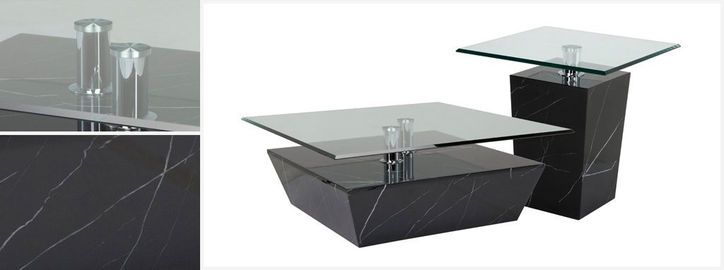 sparta square coffee table sparta faux marble   dfs
