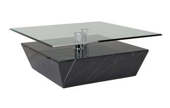 Vierkante salontafel Sparta Faux Marble