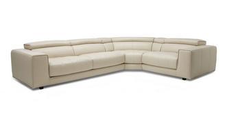 Spiatzo Option A 3 Piece Left Hand Facing 2 Corner 1 Sofa