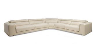Spiatzo Option C Left Hand Facing 2 Seat 4 Piece Corner Sofa