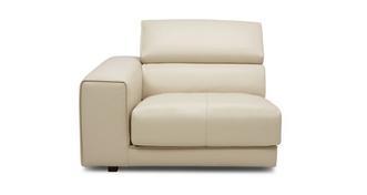 Spiatzo Left Hand Facing Arm 1 Seat Unit