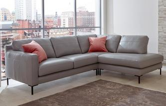 Spirito Left Hand Facing Arm 3 Piece Corner Sofa Brooke