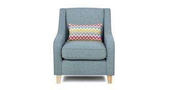 Sprint Accent Chair with 1 Pattern Bolster