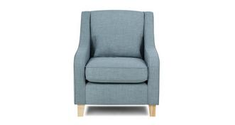 Sprint Accent Chair with 1 Plain Bolster