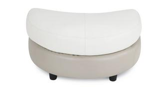 Stage Half Moon Footstool