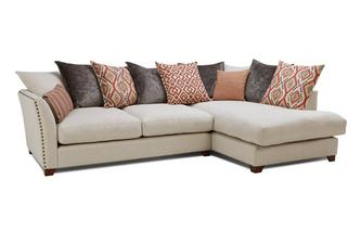 Left Hand Facing Arm Medium Corner Sofa