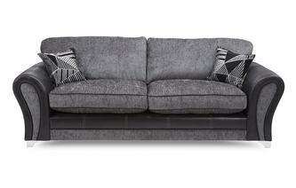 4-zits sofa met vaste rugkussens Starlet