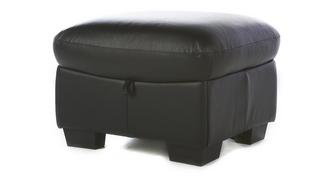 Status Leather and Leather Look Storage Footstool