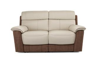Stefano 2 Seater Manual Recliner Bacio Vellutato