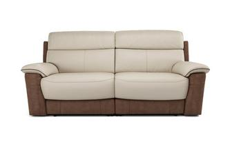 Stefano 3 Seater Electric Recliner Bacio Vellutato