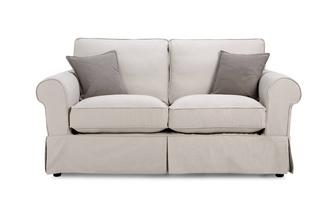 Formal Back 2 Seater Sofa Classic Cotton