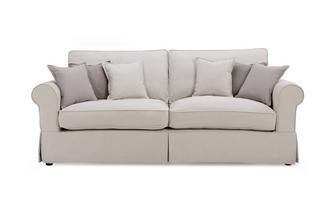 Grande Formal Back Sofa Classic Cotton
