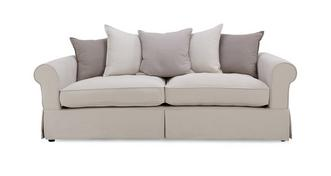 St Ives Pillow Back 4 Seater Sofa
